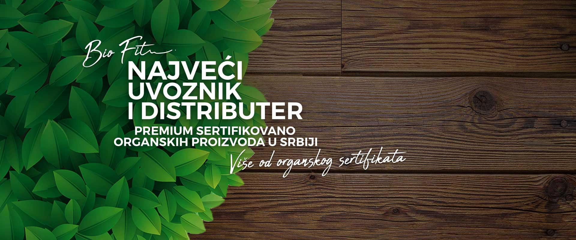 BioFit - najveći uvoznik i distributer organske hrane u Srbiji